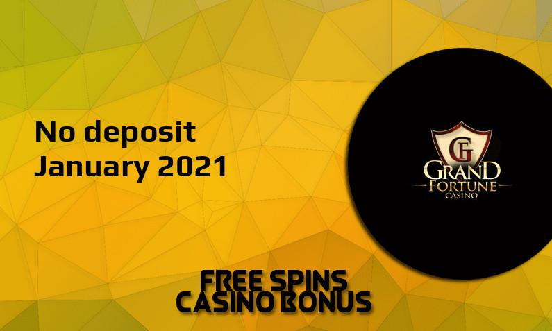 Grand Fortune Casino Bonus Codes 2021