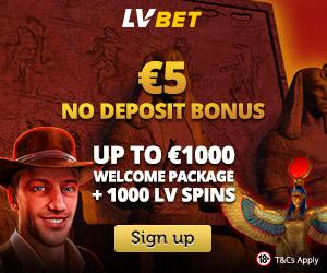 Featured bonus from LVbet Casino