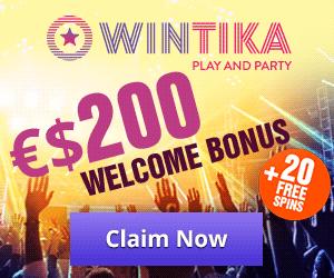 Latest bonus from Wintika Casino